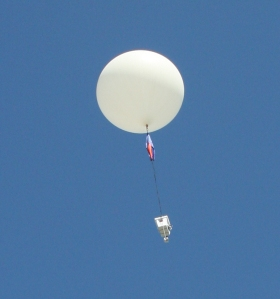Grandville High School RoboDawgs Balloon Launch