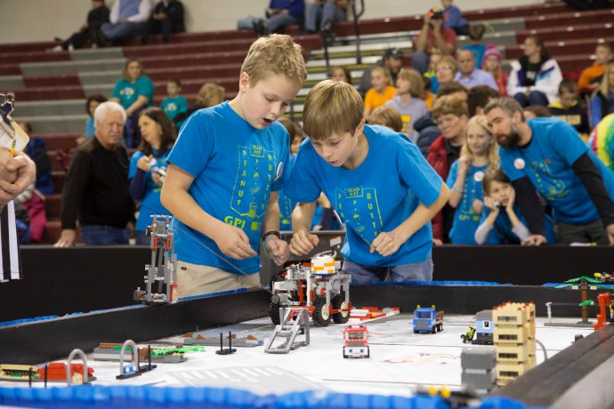 Grandville High School Lego League Tournament November 23, 2013