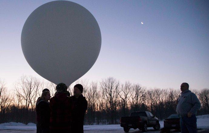 Grandville High School RoboDawgs Balloon