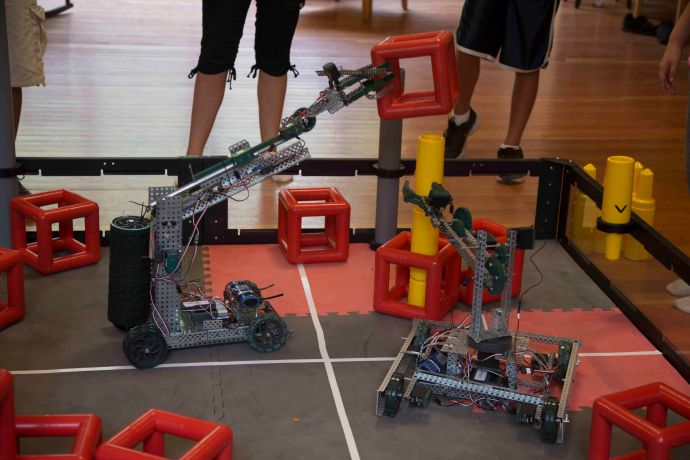 RoboDawgs at Camp Newaygo