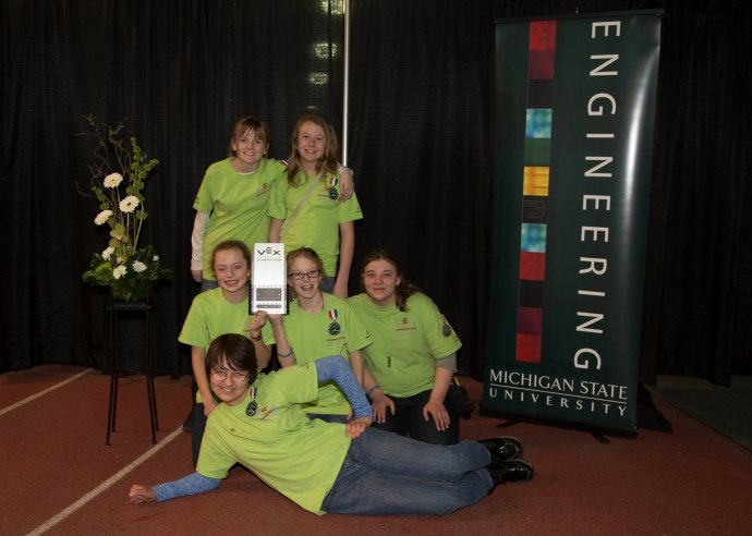GMS Team 216D - the Automotons with the State Programming Challenge Trophy